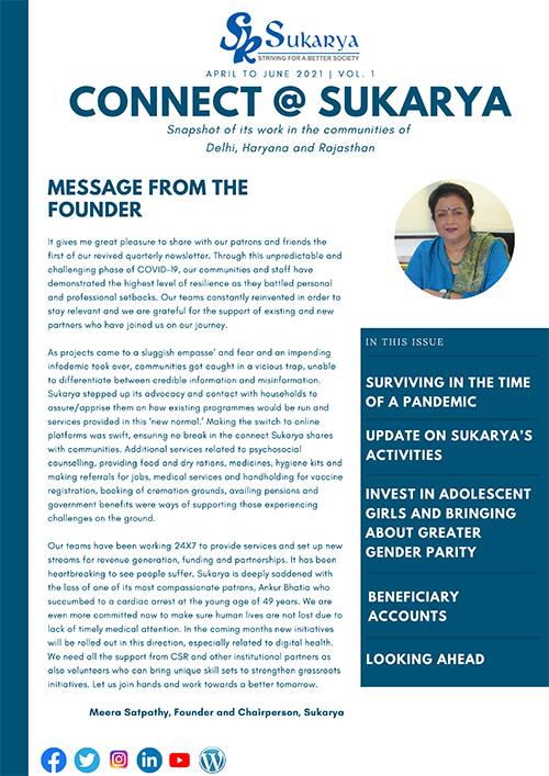 Copy of Sukarya Newsletter April to June 2021